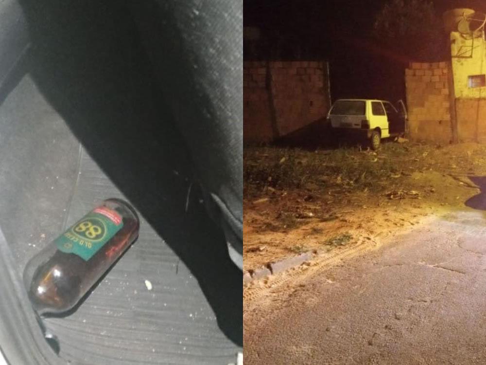 Imagem de Mulher embriagada invade residência com carro, ofende policiais e é presa
