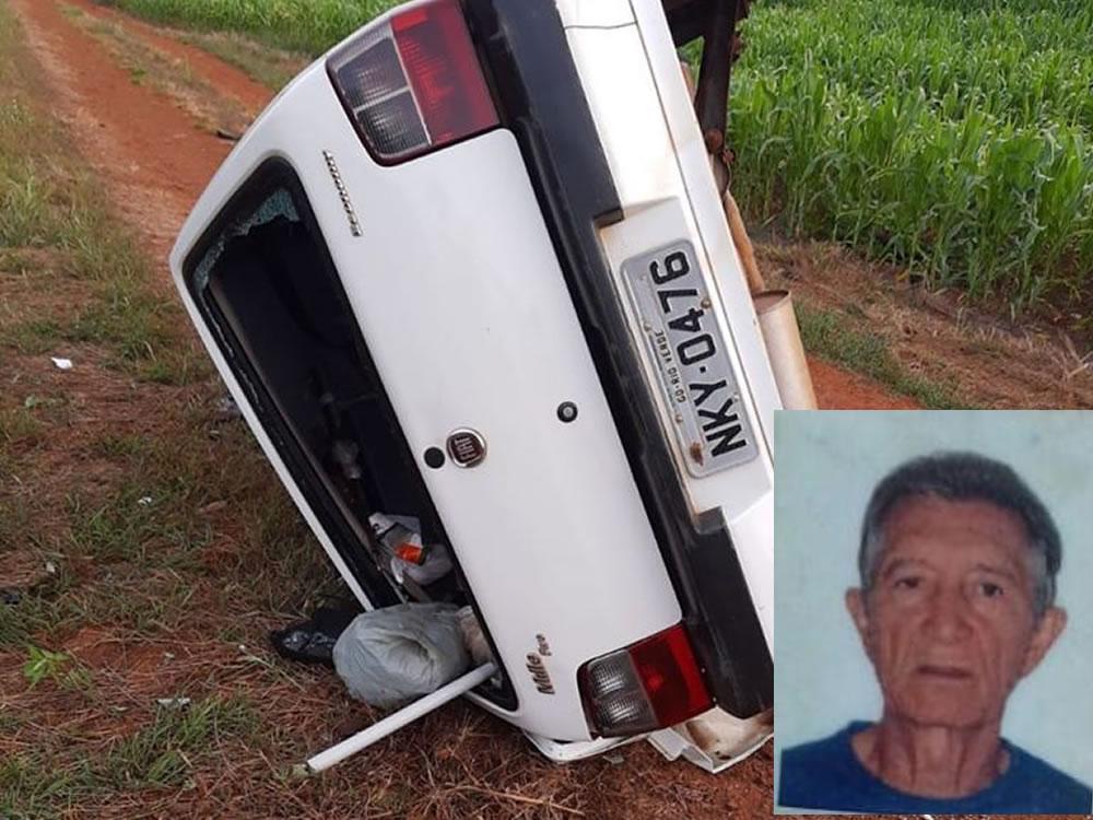 Imagem de Homem morre em acidente na GO-174, em Rio Verde