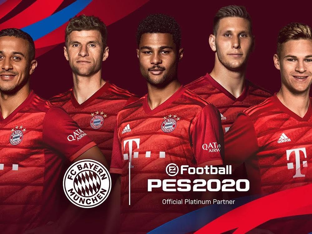 Imagem de PES 2020 terá retorno de Bayern de Munique licenciado