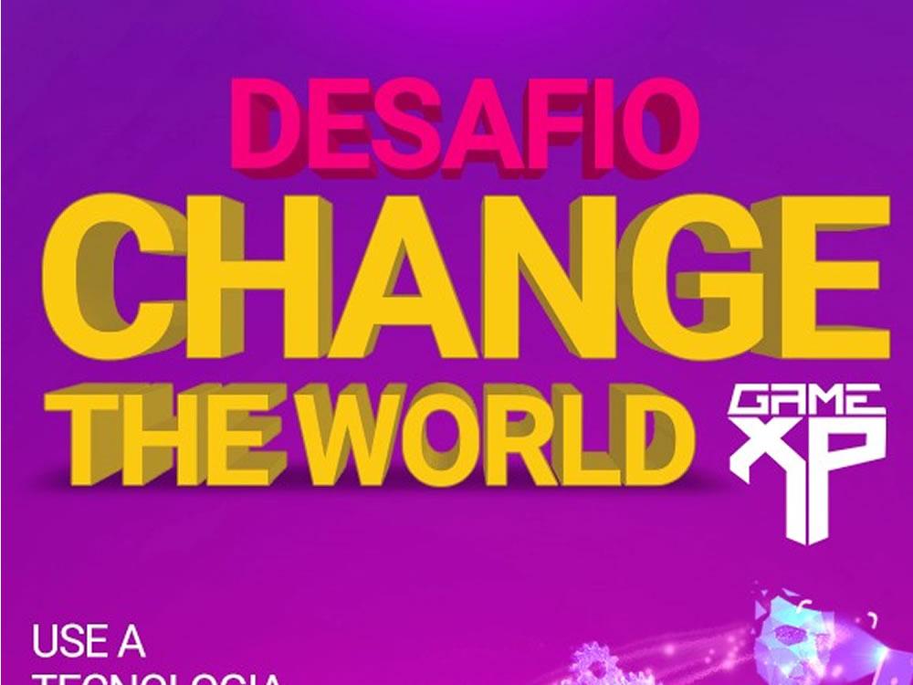 "Imagem de Escola de tecnologia lança desafio ""Change the World –Game XP"" para jovens de todo o país"