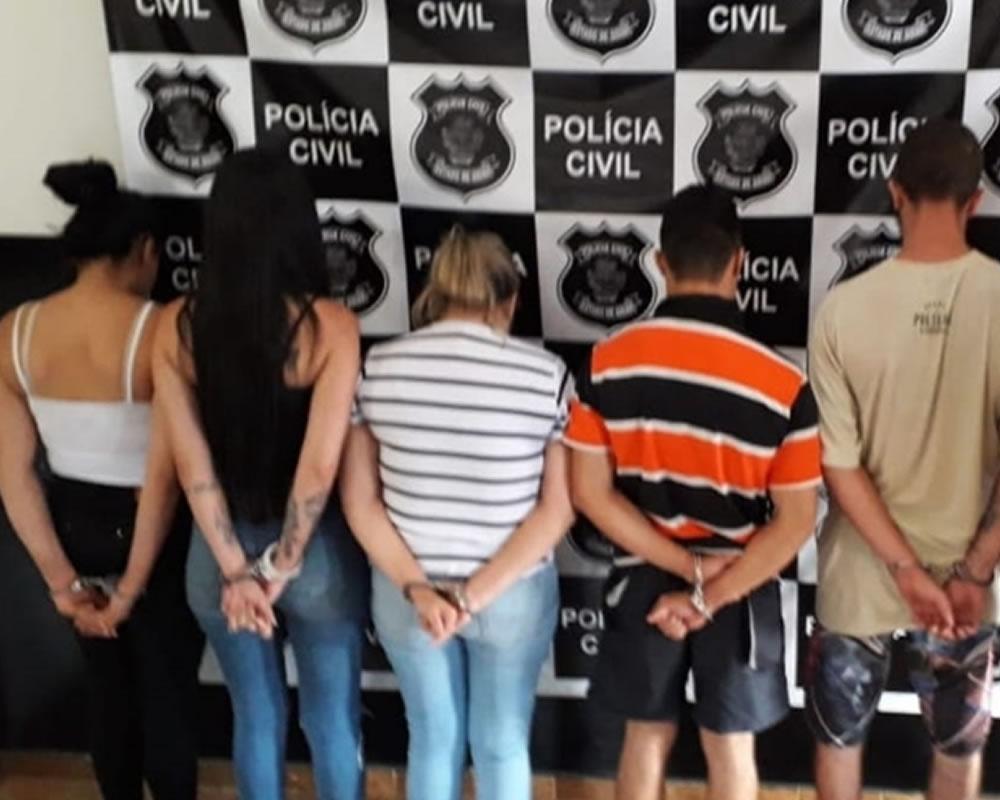 Imagem de Polícia Civil prende quadrilha de tráfico de drogas que atuava no interior de Goiás