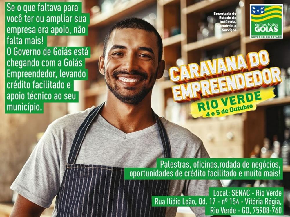 Imagem de Com apoio do Sebrae, Rio Verde recebe Caravana do Empreendedor