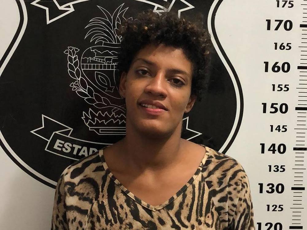 Imagem de Mulher presa por crime na Vila Baylão