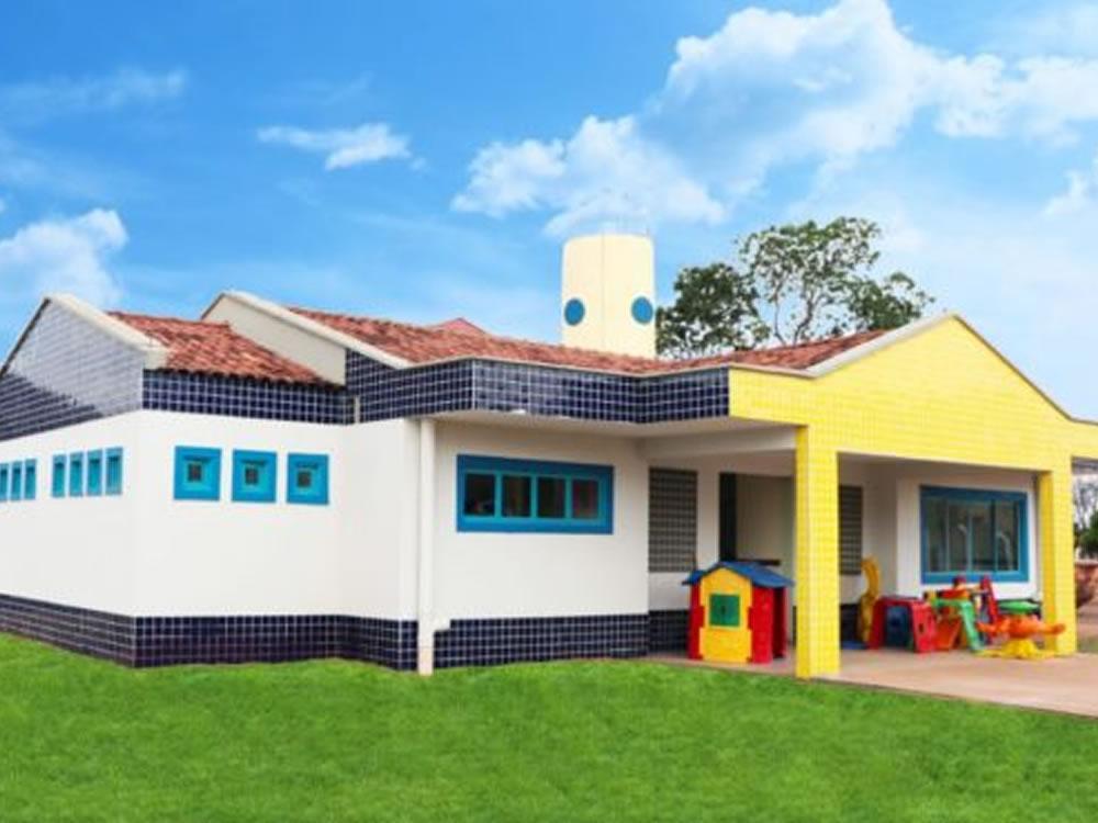 Imagem de Prefeitura de Rio Verde inaugura creche no Dimpe