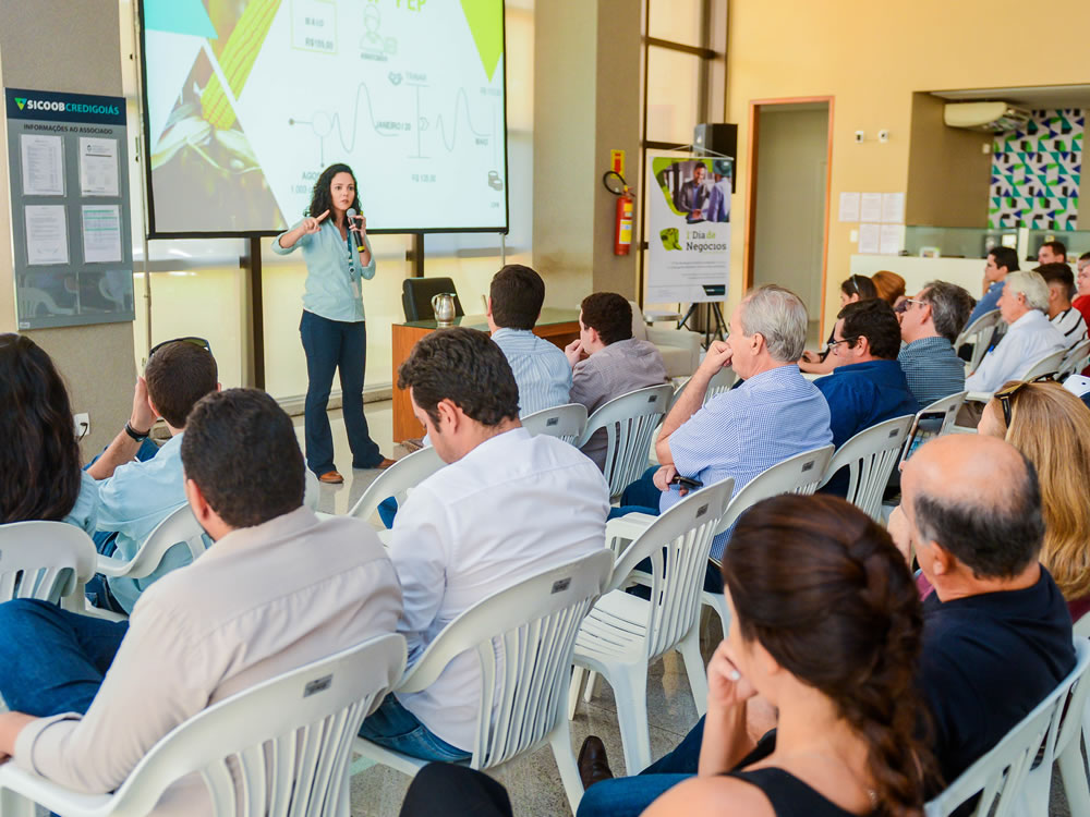 Imagem de Sicoob Credigoiás reúne cooperados no 1º Dia de Negócios