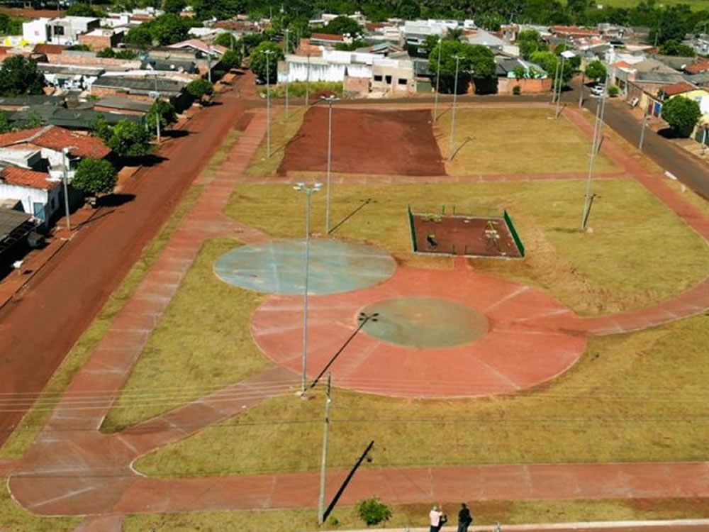 Imagem de Região Sul de Rio Verde ganhará mais duas praças