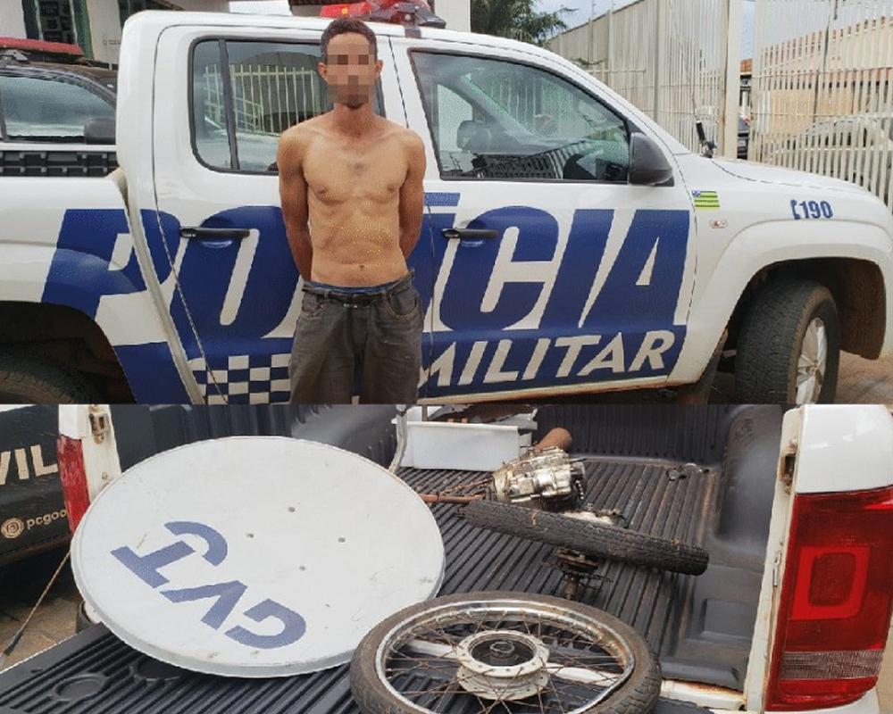 Imagem de Polícia Militar descobre desmanche em Rio Verde