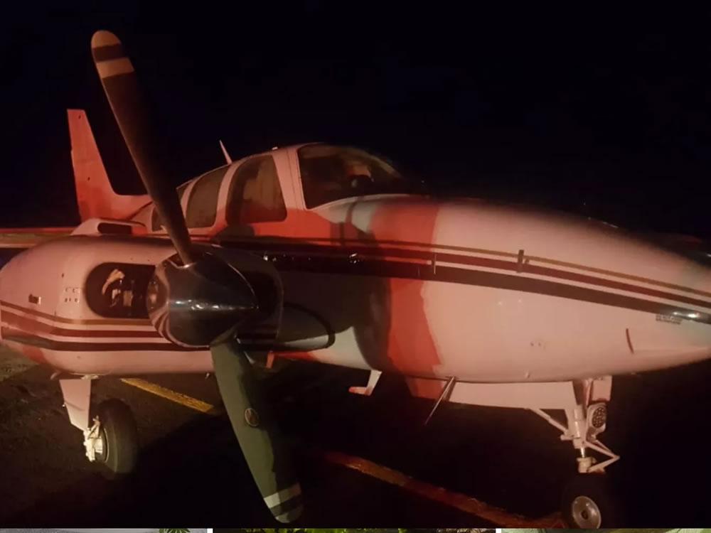 Imagem de Avião com 500 kg de cocaína é apreendido em operação policial em Rio Verde