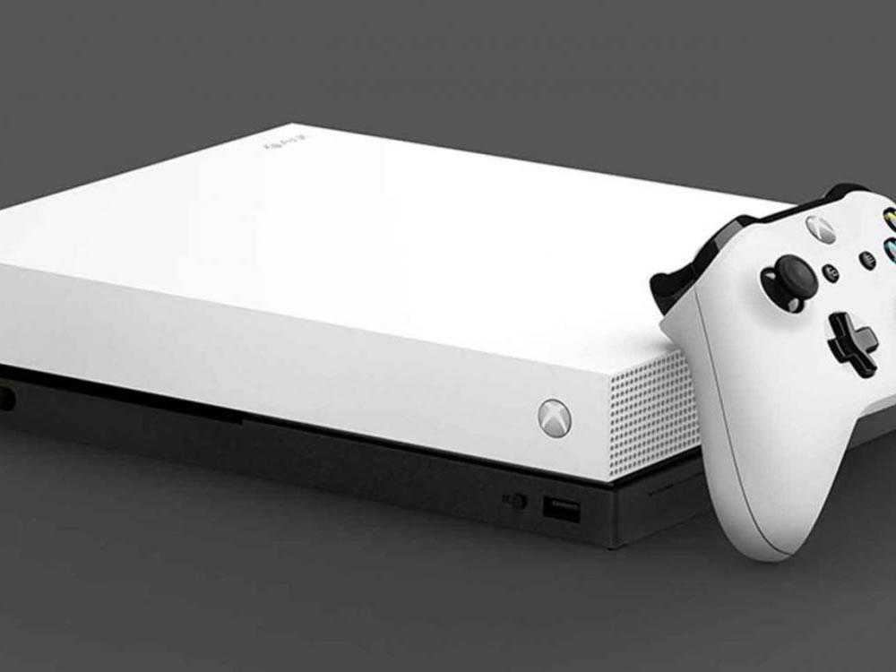 Imagem de Xbox sem entrada para discos físicos se aproxima