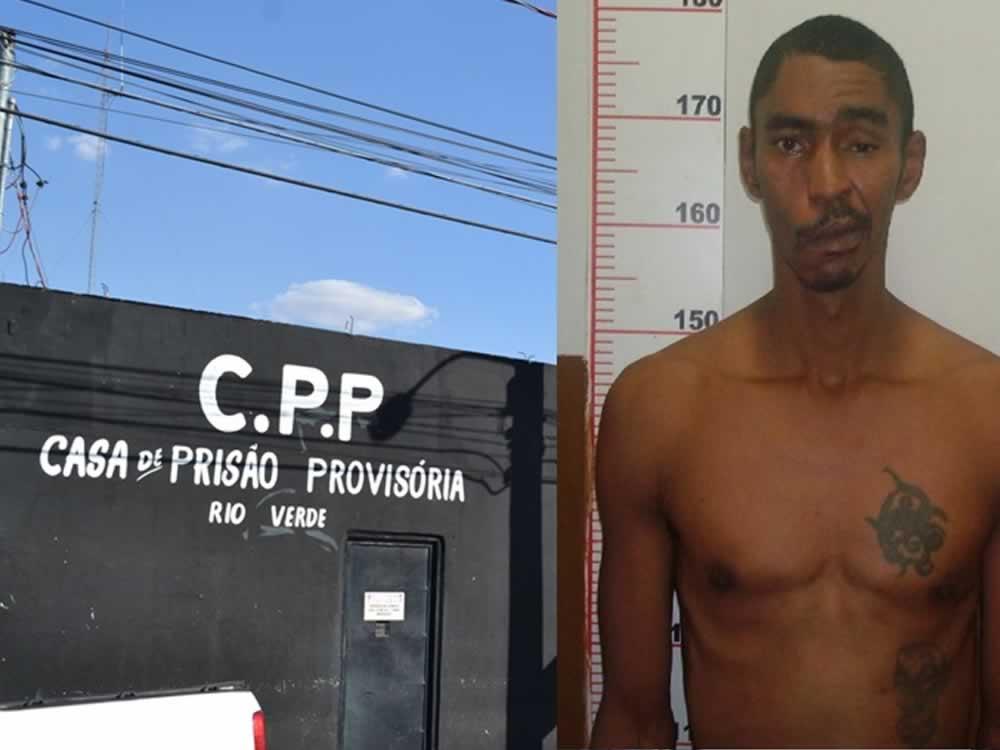 Imagem de Detento é assassinado dentro da CPP de Rio Verde
