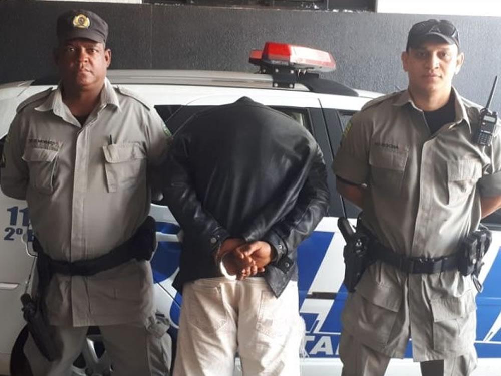 Imagem de Ladrão é preso no Bairro Eldorado, em Rio Verde