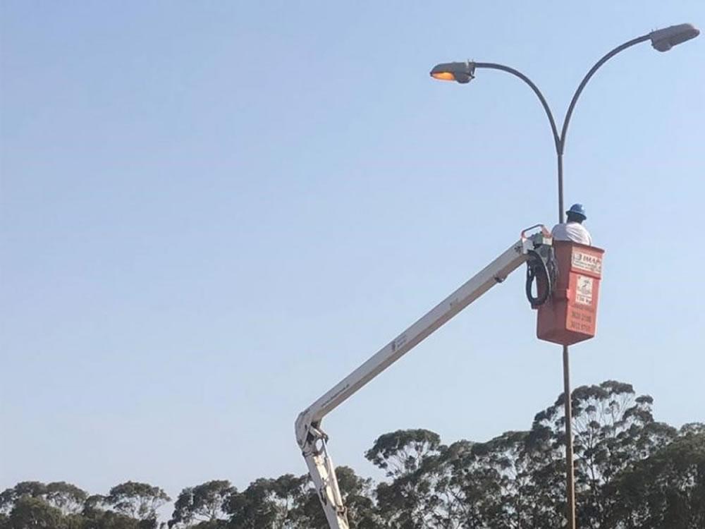 Imagem de Prefeitura realizou manutenção da iluminação pública na BR-060