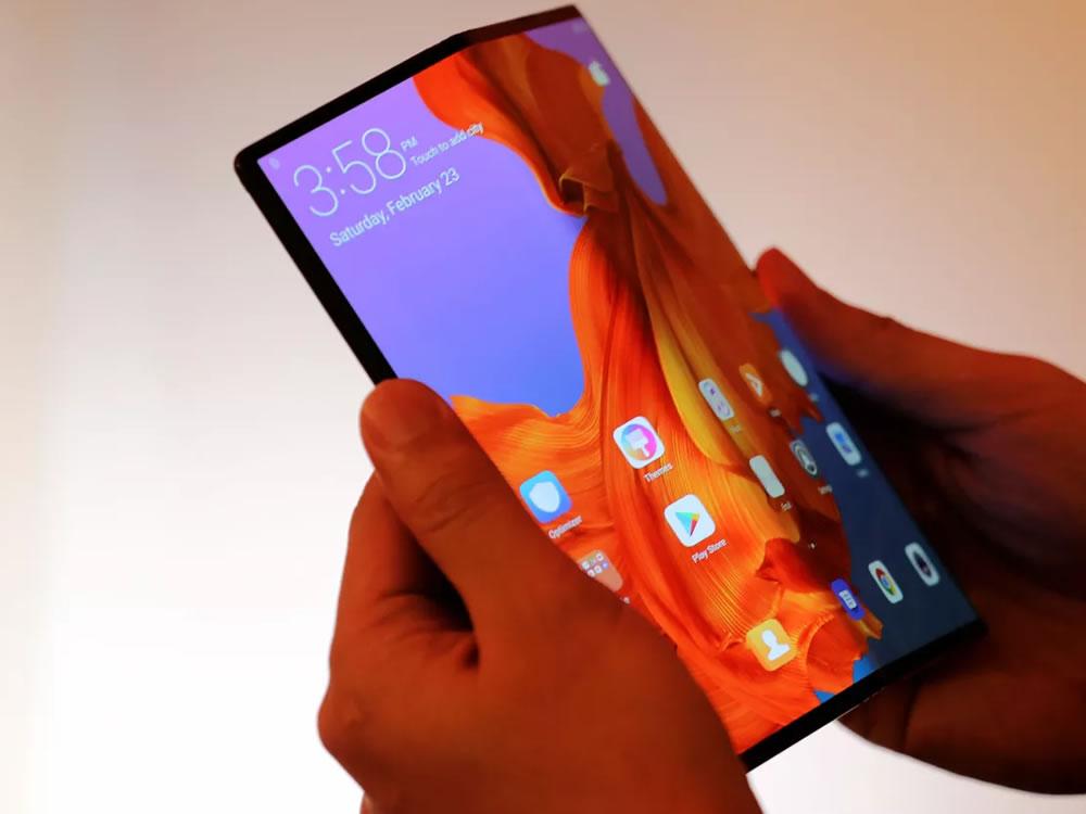 Imagem de Huawei lança smartphone com tela dobrável que custará US$ 2,6 mil