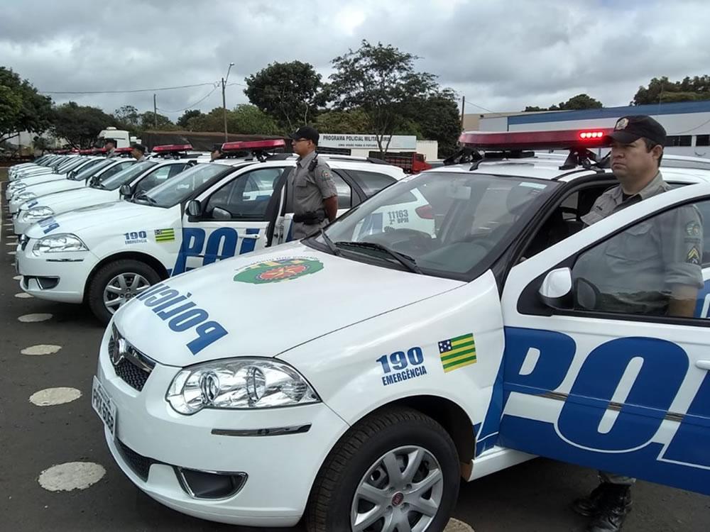 Imagem de Polícia Militar de Rio Verde recebe nova frota de viaturas