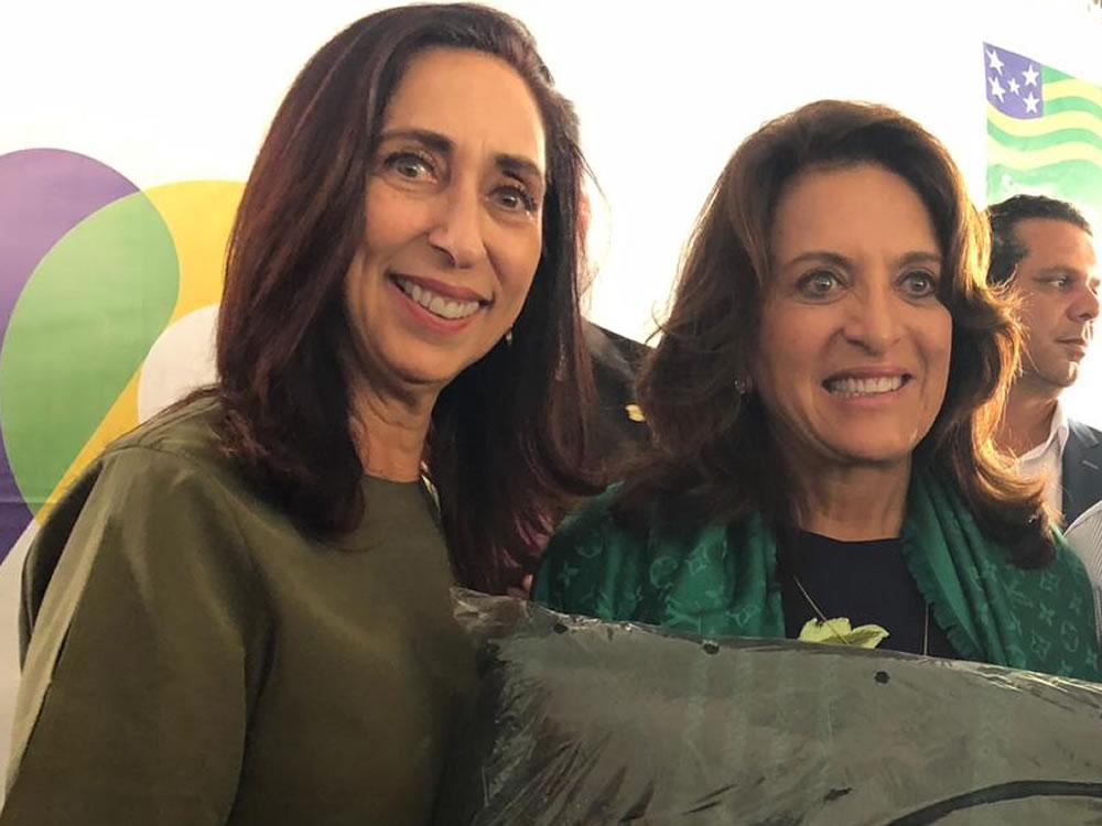"""Imagem de Primeira-dama de Rio Verde participa da Campanha """"Aquecendo Vidas"""""""