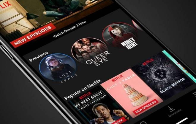 Imagem de Netflix para iPhone ganha compartilhamento via Instagram Stories