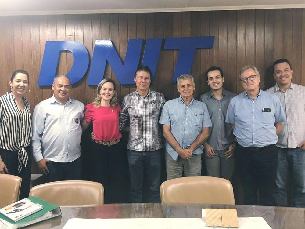 Imagem de DNIT e Prefeitura reafirmam parceria para execução de obras viárias