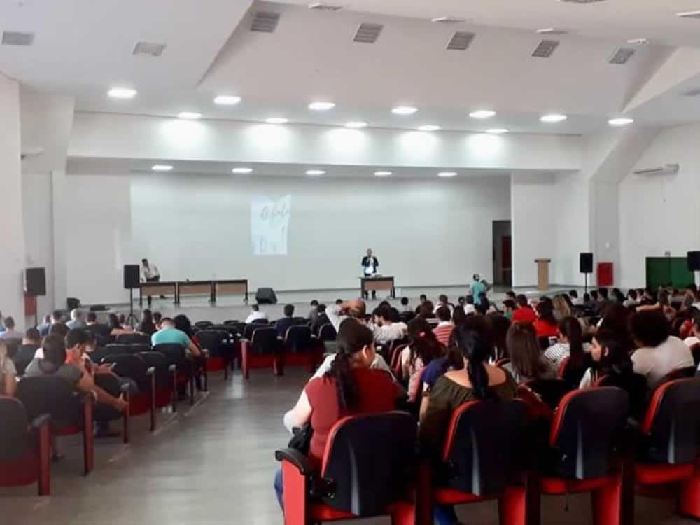 Imagem de Palestra sobre tecnologia e inovação foi aula inaugural no IF Goiano