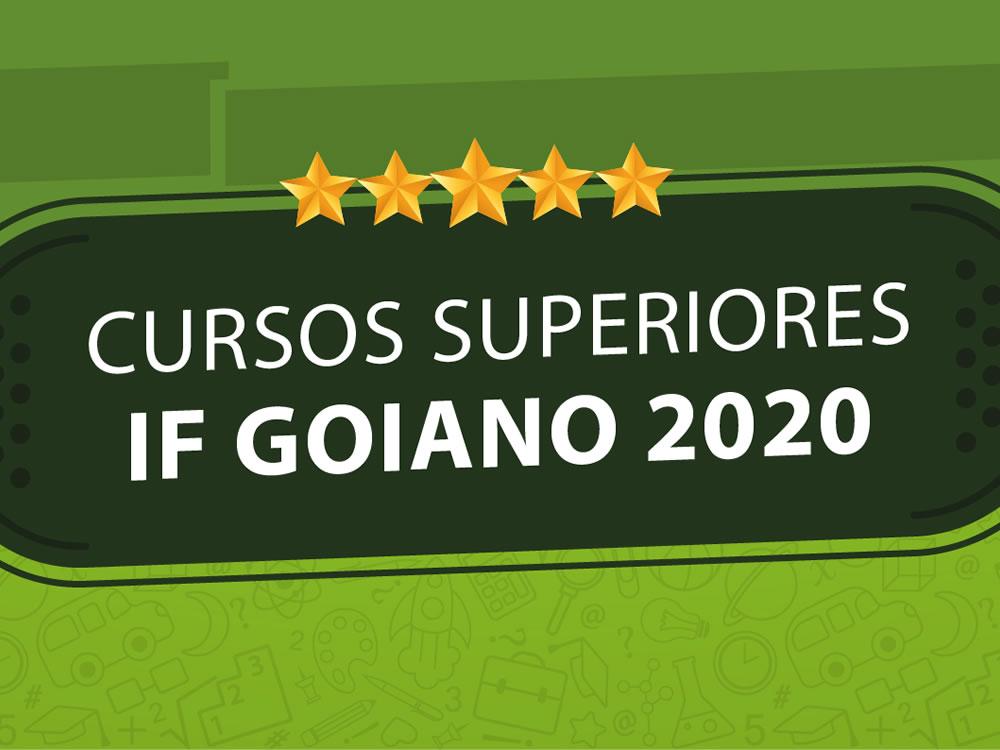 Imagem de IF Goiano de Rio Verde lança edital do Processo Seletivo 2020 dos cursos de graduação