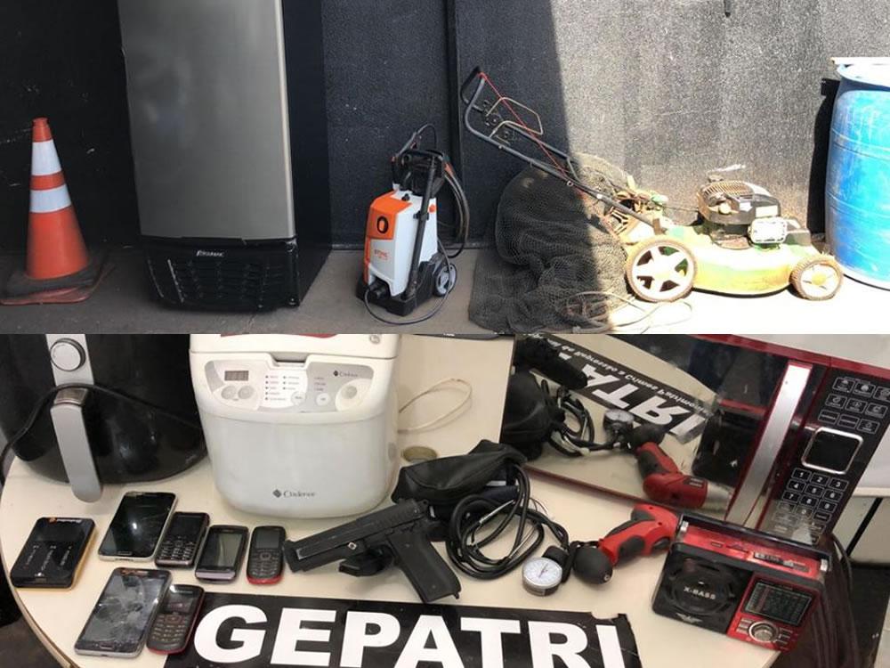 Imagem de Polícia Civil recupera produtos furtados na zona rural de Rio Verde