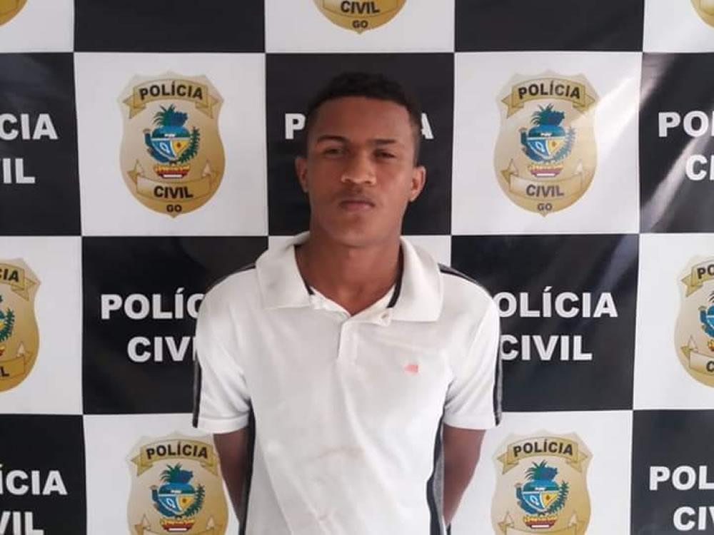 Imagem de Autor de vários assaltos preso em Goiatuba