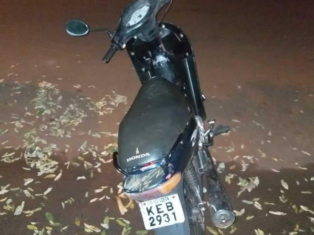 Imagem de PM recupera moto e prende um por receptação em Rio Verde