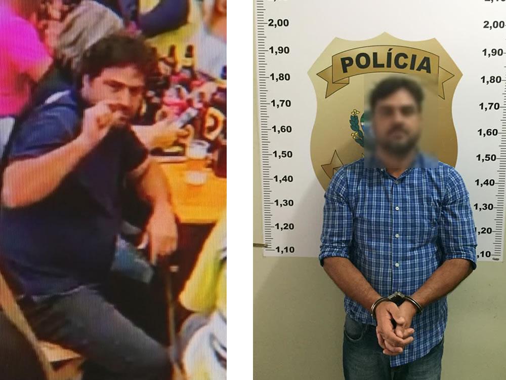 Imagem de Empresário que atropelou comerciante é preso em Rio Verde