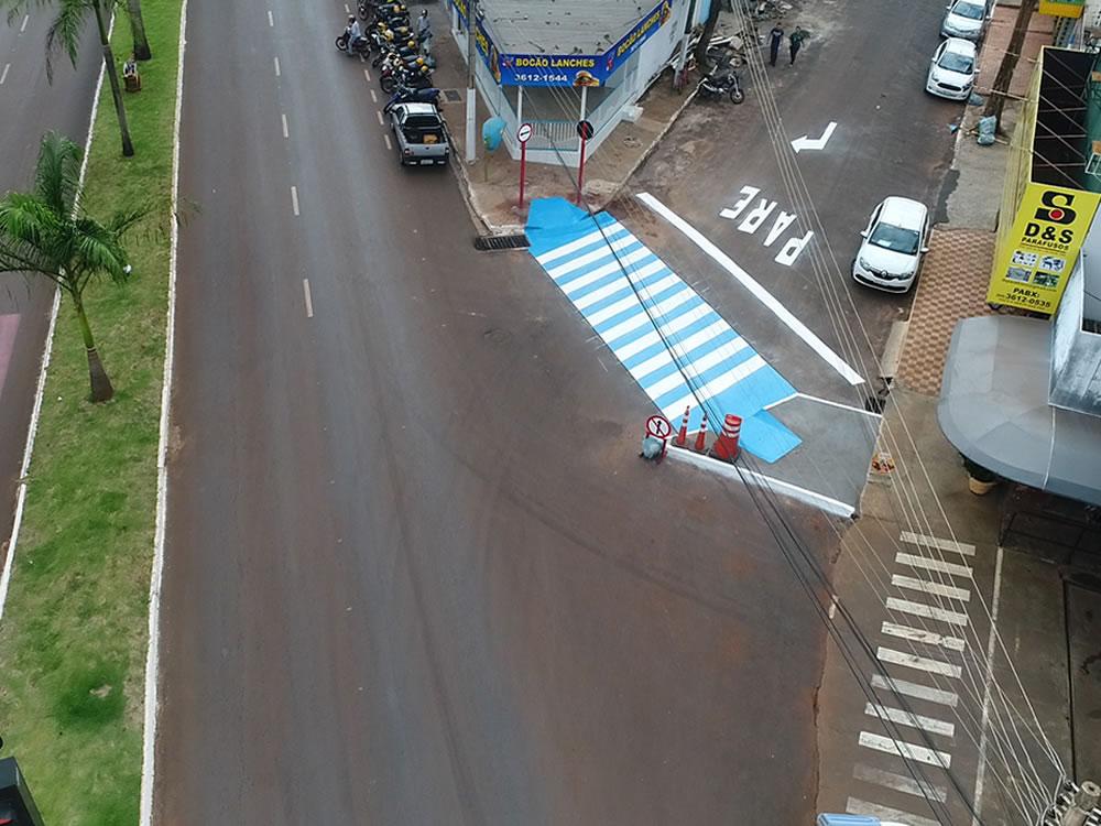 Imagem de Ruas Rio Verde e Afonso Arantes estão com novo sentido de circulação