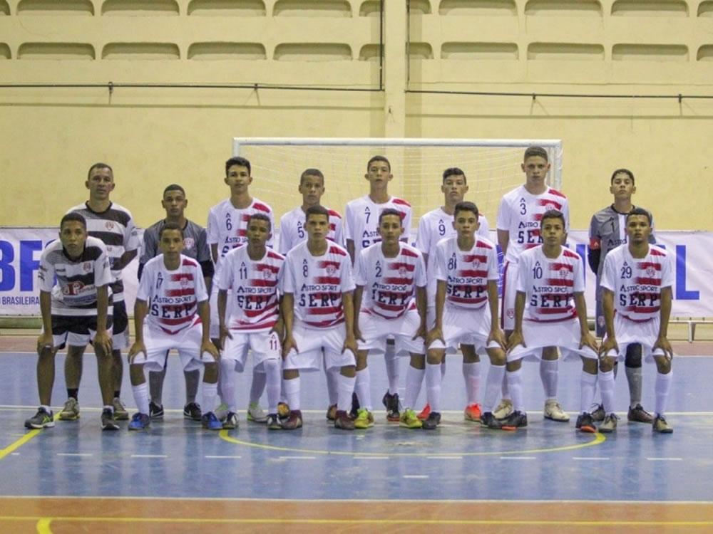 Imagem de Serp de Rio Verde se despede com vitória da Taça Brasil sub-15 de futsal