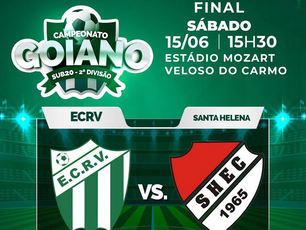 Imagem de Rio Verde começa decisão do sub-20