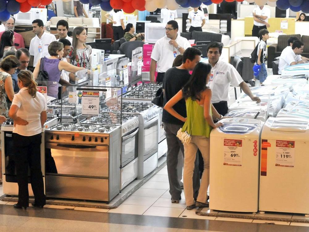 Imagem de Em janeiro, vendas no varejo goiano variam 0,4%