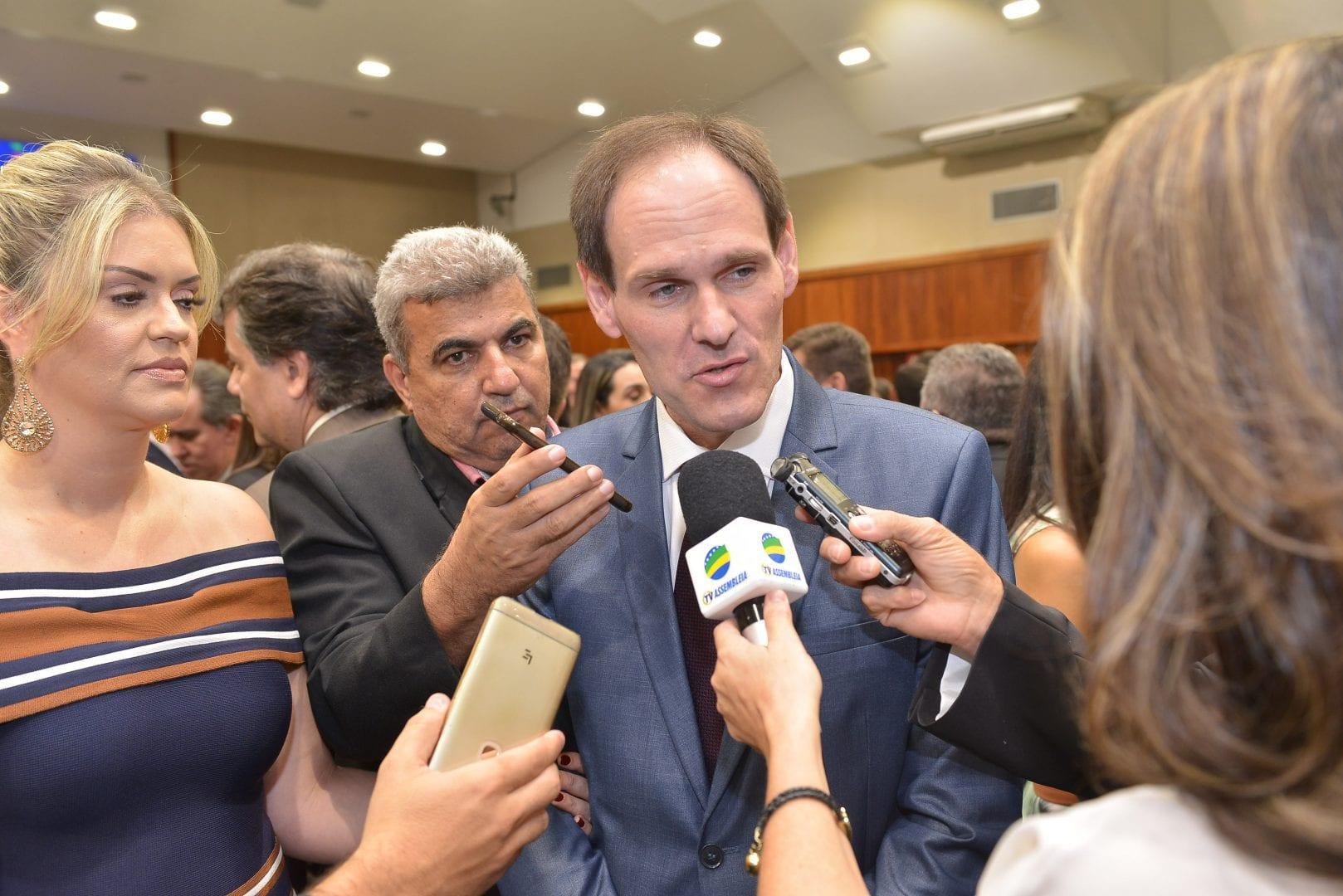 Imagem de Lissauer Vieira é eleito presidente da Alego
