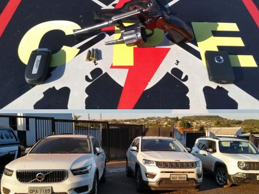 Imagem de Quadrilha de roubo de carros presa em Jataí