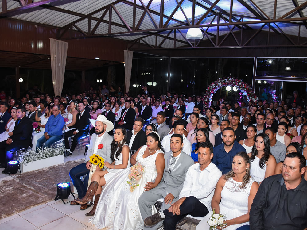 Imagem de Prefeitura de Mineiros realizou a 7ª edição do casamento comunitário