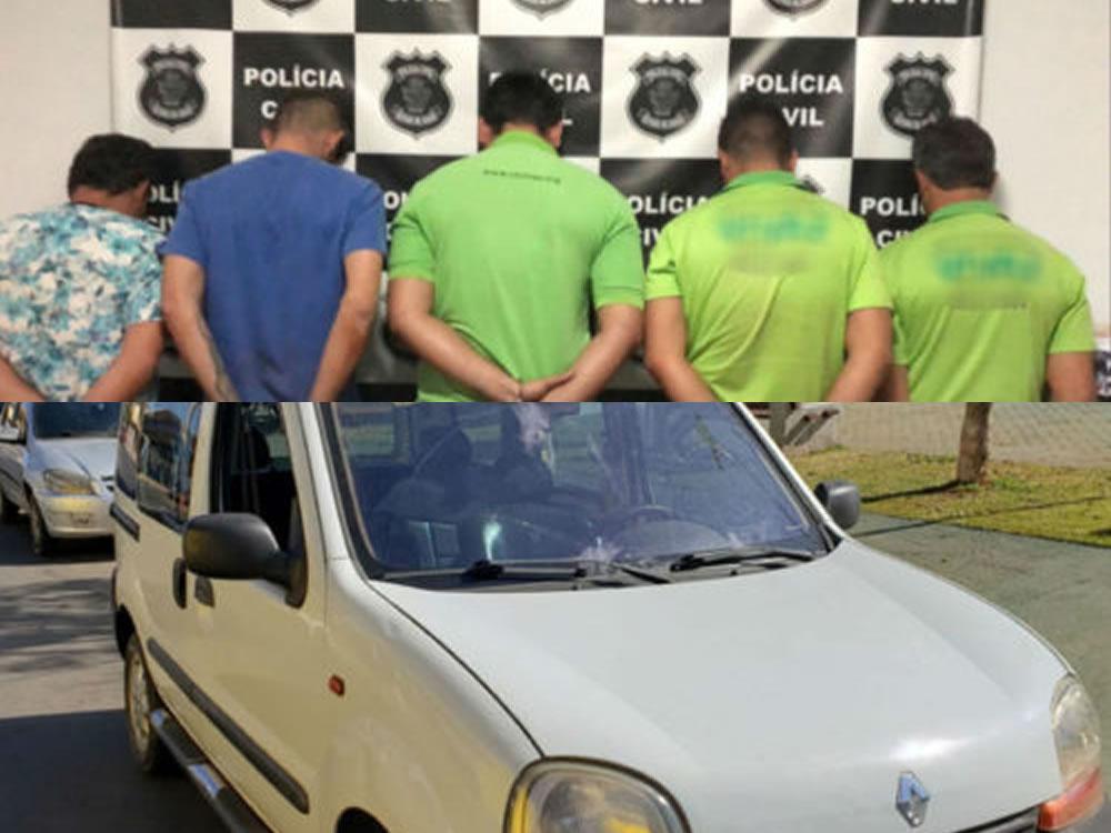 Imagem de Polícia Civil prende em flagrante membros de clínica de recuperação que transportavam vítima sequestrada