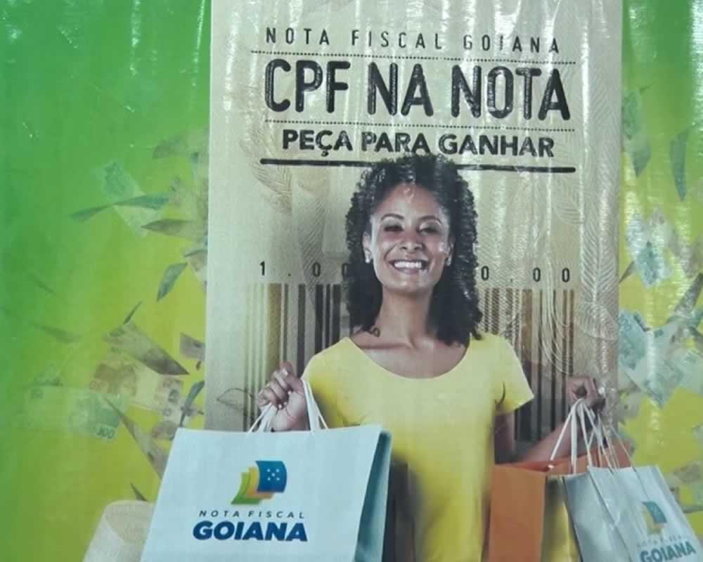 Imagem de Governo suspende sorteios da Nota Fiscal Goiana