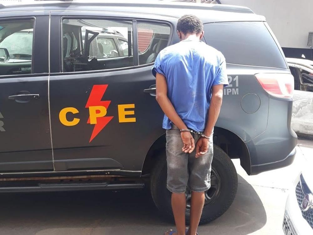 Imagem de Homem tenta cometer furto no Bairro Popular e é preso em Rio Verde