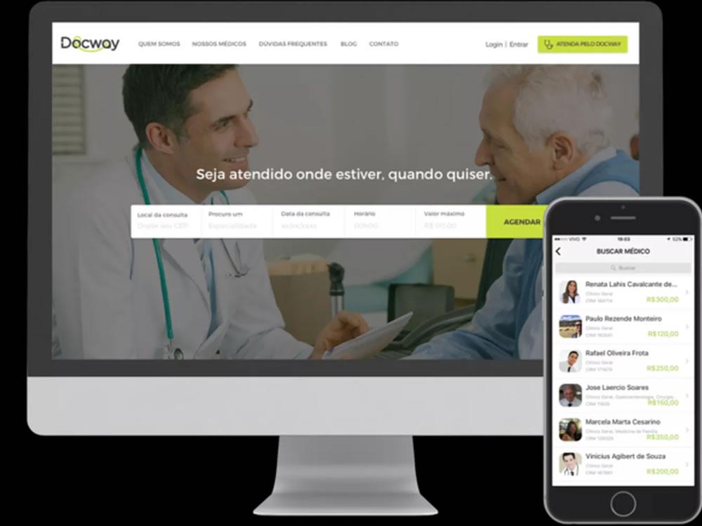 Imagem de Conheça o Docway, app que promete ser o 'Uber das consultas médicas'