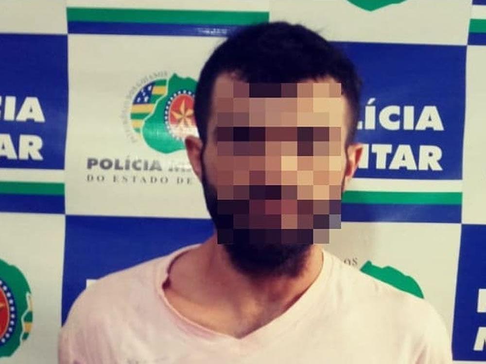 Imagem de Homem preso na Vila Mutirão