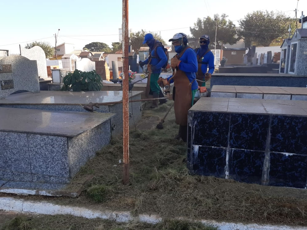 Imagem de Cemitério São Miguel recebe melhorias