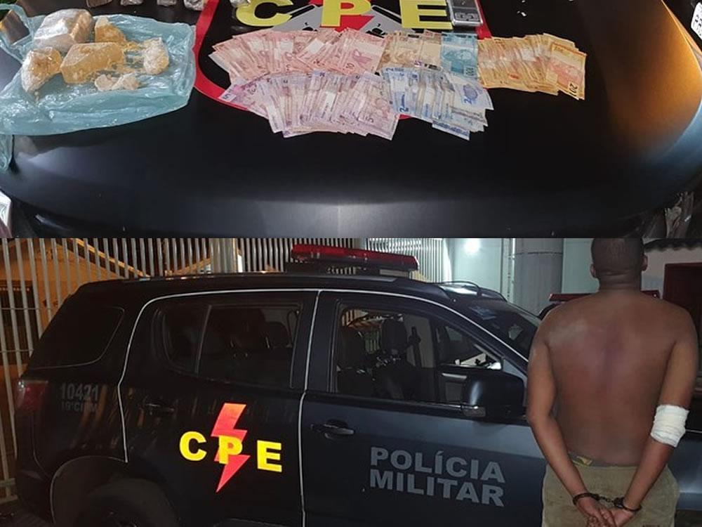Imagem de Casal é preso por tráfico em Rio Verde