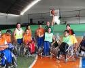 Imagem de Cadeirantes rio-verdenses são destaque no basquete