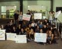 Imagem de Artistas protestam na Câmara dos Vereadores