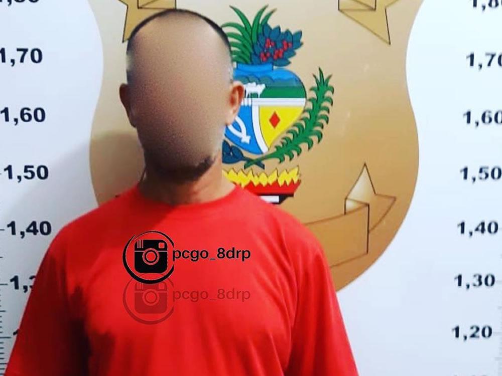 Imagem de Acusado de estuprar criança é preso em Rio Verde