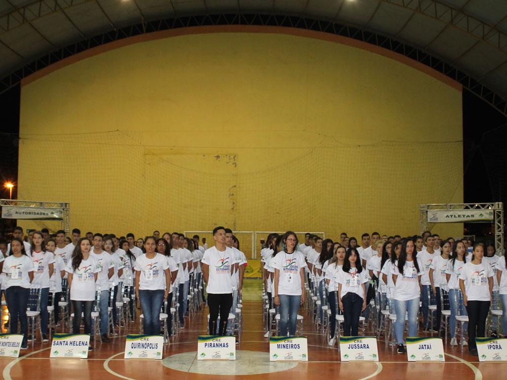 Imagem de Rio Verde sediou etapa regional dos Jogos Estudantis de Goiás