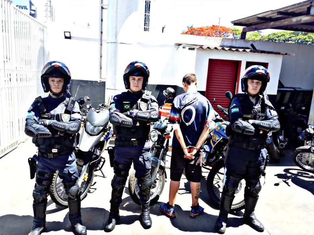 Imagem de Guarda Civil prende suspeito de furto em Rio Verde