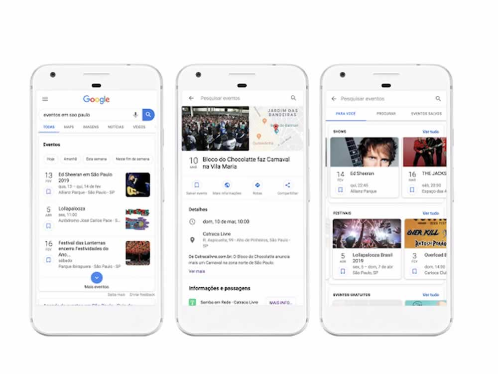 Imagem de Google lança no Brasil ferramenta para busca de eventos