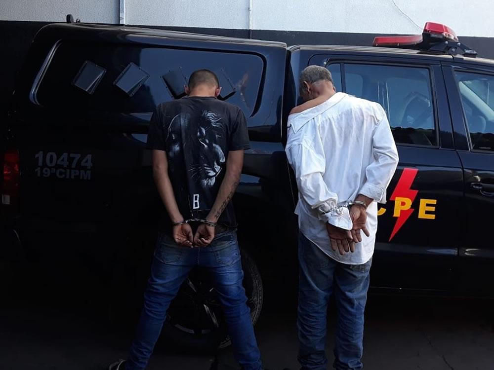 Imagem de Dois presos na Vila Menezes, em Rio Verde