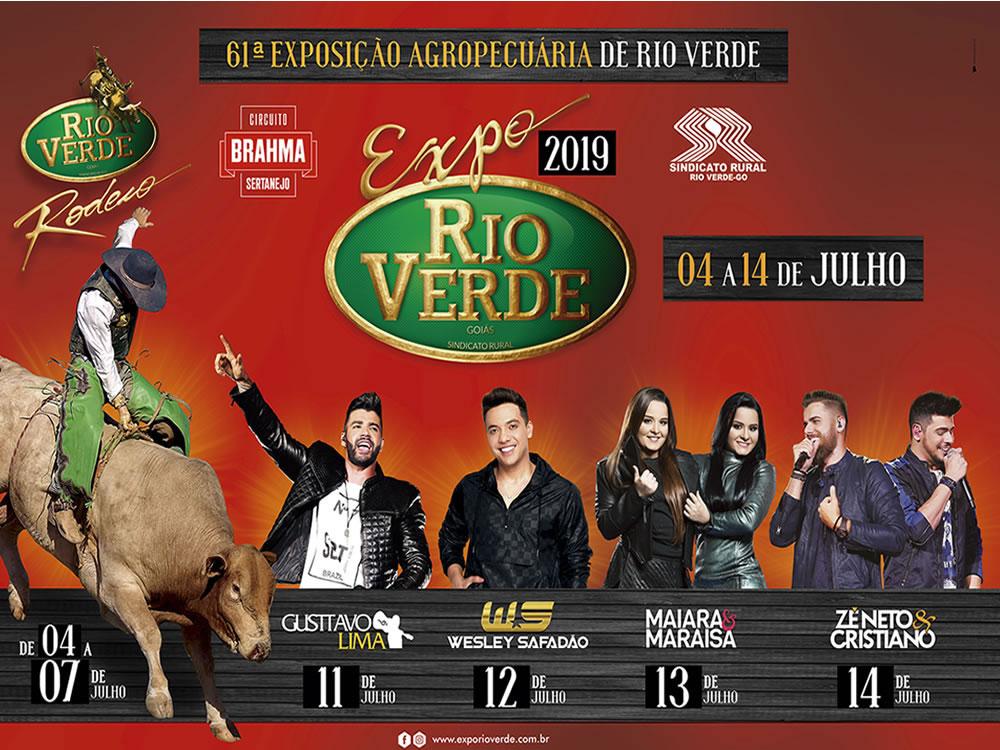 Imagem de Quase tudo pronto para a Expo Rio Verde 2019
