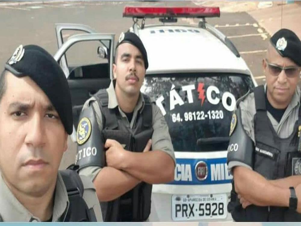 Imagem de Policiais militares salvam jovem que tentava pular de viaduto em Rio Verde